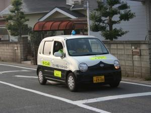小田部校区パトロールカー